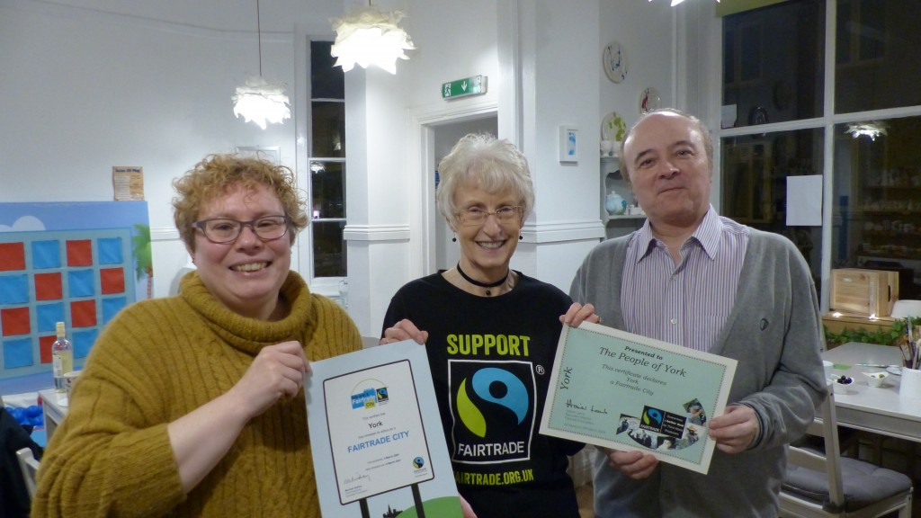 15 years of Fairtrade in York