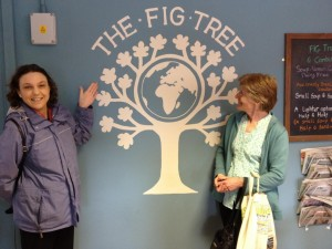3 Sue and at Fig Tree cafe