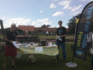 Stall at West Bank Park July 2015