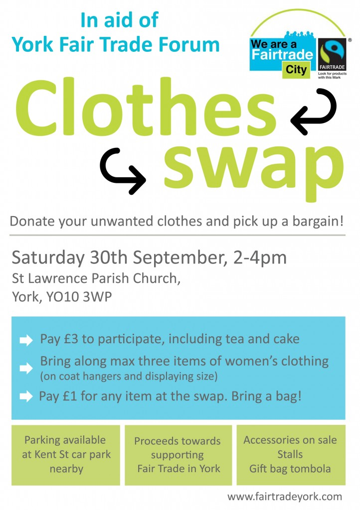 Fair Trade clothes swap v2