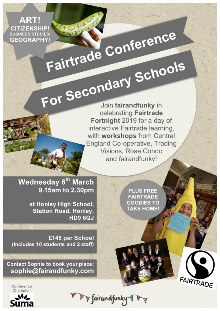 Secondary Schools Fairtrade Conference @ Honley High School