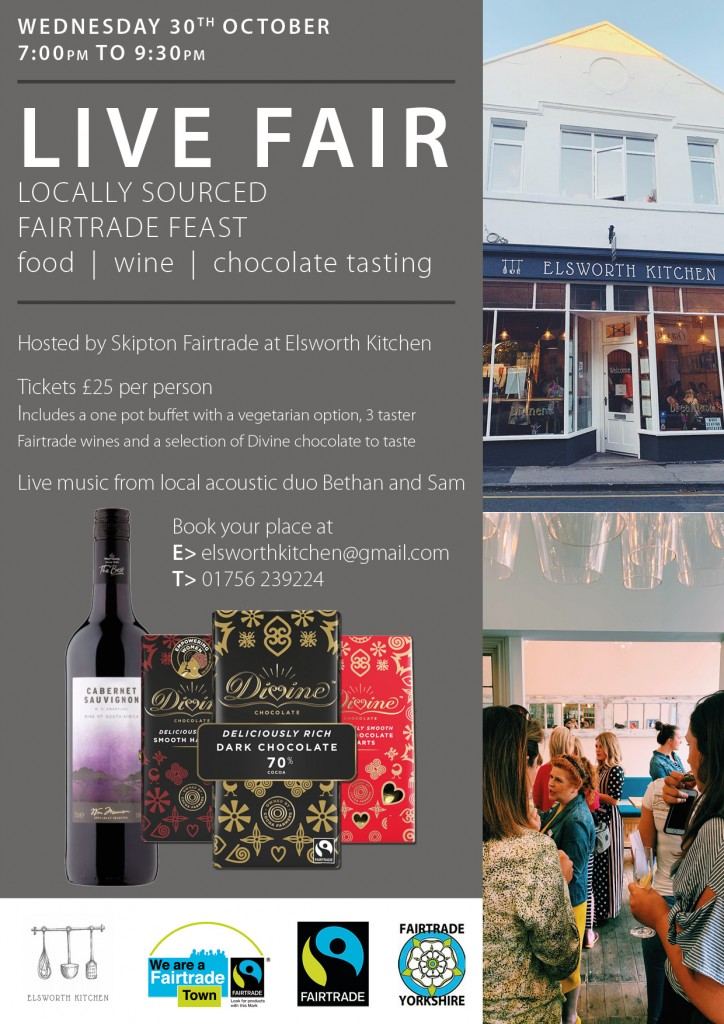 Skipton Local and Fair Trade Feast @ Elsworth Kitchen